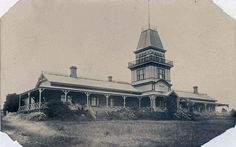 Ocean Grove Post Office - 1st PO in Ocean Grove Coffee Palace, cnr The Terrace and Presidents Avenue