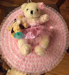 "LITTLE BALLERINA ""Bonnet Bear"" by OnceUponcraftdesigns on Etsy"
