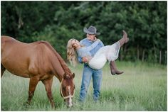 Tuf Cooper and Tiffany McGhan Engagement Portraits – Kirstie Marie Photography Horse Engagement Photos, Engagement Props, Cute Couples Photos, Cute Couple Pictures, Couple Photos, Cowboy Family Pictures, Horse Couple, Western Photo, Cowboy Love