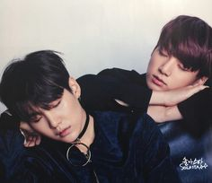 Suga and Jungkook ❤ BTS for Singles Magazine January 2017 Issue #BTS #방탄소년단