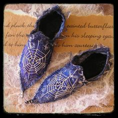 Fairy Shoes Pattern by AnnetteEmms on Etsy