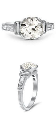 Platinum Tamiko Ring