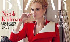 Nicole Kidman for Bazaar UK by Norman Jean Roy