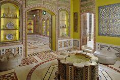 Syrian Room, Shangri La Museum of Islamic Art, Culture & Design Islamic World, Islamic Art, Beverly Hills, Doris Duke, Oriental, Gothic Furniture, Moroccan Design, Courtyard House, Historical Images
