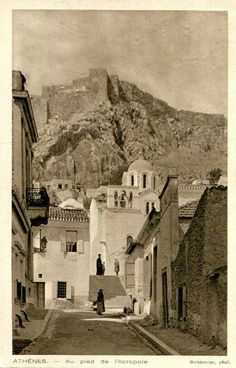 A collection of old postcards of Athens, Greece Ancient Greek City, In Ancient Times, Ancient Greece, Ancient Greek Architecture, Ancient Architecture, Gothic Architecture, Old Pictures, Old Photos, Bauhaus