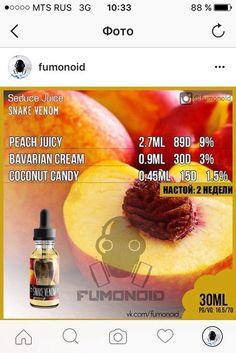 Premium E-liquids straight from the manufacturer Diy Vape Juice, Vape Diy, Health Benefits Of Grapefruit, Red Juice Recipe, Diy E Liquid, Clone Recipe, Coconut Candy, Jungle Juice, Peach Juice