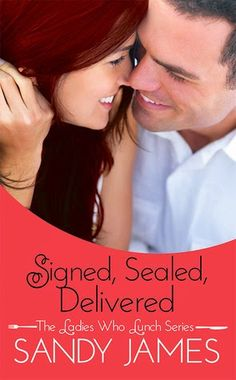 Krazy Book Lady: Signed, Sealed, Delivered by Sandy James - Review