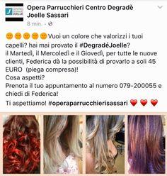 #hairstylist #degradè #degradejoelle #sassari #sardegna # italianstyle #hombrehair #blonde #blondetip #hair #capelli #blog #biondo #wella #saloon #italy #parrucco  #promozione #coupon