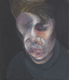Francis Bacon, Two Studies For a Self Portrait, 1977