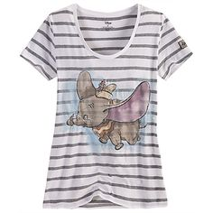 Vintage Dumbo Tee I haven't seen Dumbo in a long time. Today is Wednesday. That should be reason enough to watch it. :D