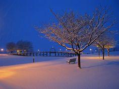 Winter Heritage Landing, Muskegon, MI