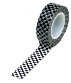Queen and Company - Trendy Tape - Checkered Flag at Scrapbook.com