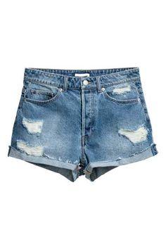 Pantalón corto High Waist