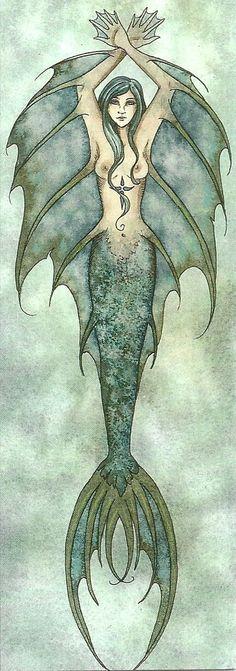 Amy Brown Water Element - mermaid