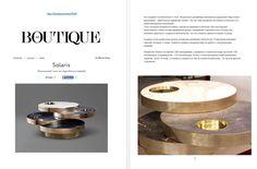 Solaris table designed by Lara Bohinc for Lapicida lapicida.com http://boutique.az/view/9239