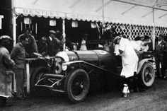Bentley Old Number Seven Le Mans 1927