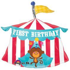 Fisher Price Circus Tent 1St Birthday Super Shape