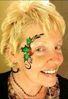 Think we should rock the facepaints this Christmas!!!