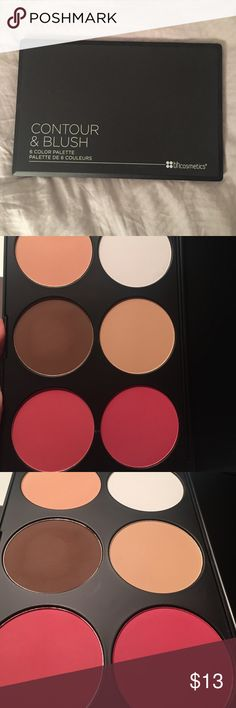 Contour Palette - free w/ $10 purchase Only brown color has been swatched. Other colors are unused. Purchased from Urban Outfitters. BH Cosmetics Makeup