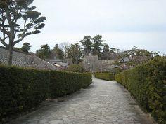松阪市にある「御城番屋敷」は現在も住居として使われながら保存されている珍しい史跡。