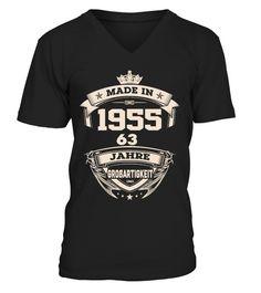 T-Shirts T-Shirt zum 63.Geburtstag Kleidung & Accessoires 63 Jahre Coole Sprüche Motive Geburtstag 1956