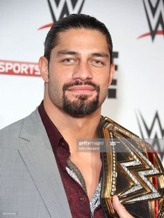 Roman Reigns arrives for WWE RAW at 02 Brooklyn Bowl on April 2016 in London, England.