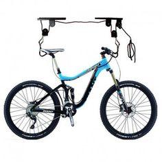 Range vélo au plafond charge lourde pour VAE