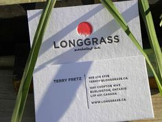 Business Card for: Longgrass | The Best of Business Card Design