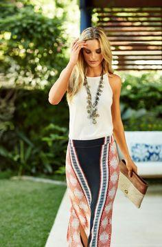 Tupi Long Skirt #Summer2014 #vix #ootd