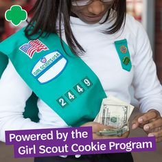 More Girl Scout Cookies means more opportunities for her to learn essential life skills. Find your cookies: hngirlscouts.org.