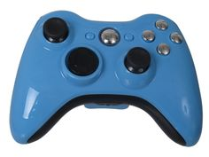 Xbox 360- Sky Chrome Controller