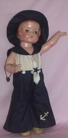 "Effanbee c1929 to Early c1930's 19"" Patsy Ann Doll - ALL ORIGINAL - Excellent!"