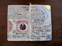 How to Start (and Keep) a Journal: I especially love the part about consuming experiences, consuming life, to spark creativity. Yes.