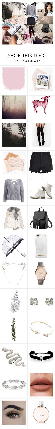 Hannah by aline-sklws on Polyvore featuring mode, ASOS, FOSSIL, Kenneth Jay Lane, Fulton, Chanel, Leah Flores, Zoya, TC Fine Intimates and Wunderkind