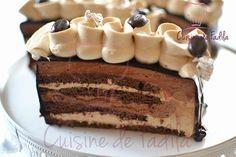 Bonjour Voilà un dessert que j'avais réalisé il y'a quelques temps et je viens de me rendre compte que je ne l'avais pas encore publié . Un entremets composé d'un biscuit cacao … Lire la suite