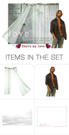 """""""Let My Love Open The Door (To Your Heart)"""" by faith-faithless ❤ liked on Polyvore featuring art"""