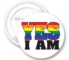 Yes I Am Button  https://www.rainbowdepot.com/Yes-I-Am-Button_p_13007.html