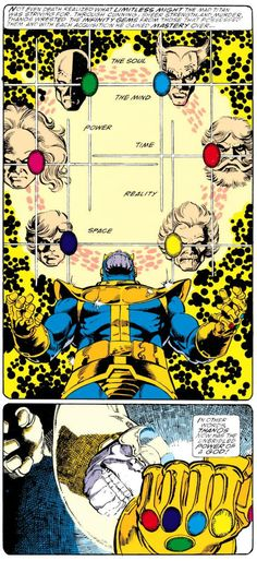 George Perez & Jim Starlin, Infinity Gauntlet #1