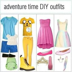 Adventure Time outfits
