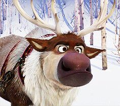 sven is just the cutest. for sure my favorite character in frozen.