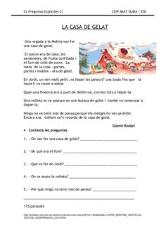 Preguntes explicites Catalan Language, Letters And Numbers, Valencia, Comprehension, Worksheets, Homeschool, Chart, Education, Reading