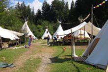 Camping / Zeltdorf Tipicamp - Krattigen - Bern/BE - Berner Oberland - 45 pers - ab