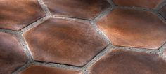 Hexagon Tile | Rustic Elegance Handcrafted in Los Angeles Since 1966