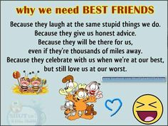 Why we need  best friends
