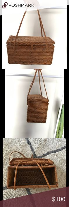 Wicker purse Small wicker purse from reformation Reformation Bags