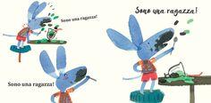 """Sono una ragazza!"""" urla a perdifiato la protagonista di questo nuovo albo dedicato alla libertà di genere, scritto e illustrato dalla pluripremiata Yasmeen Ismail. Un libro semplice e significativo, dedicato a tutte le bambine e i bambini che vogliono giocare come gli pare e piace.   """"Sono una ragazza!"""" , Yasmeen Ismail, EDT-Giralangolo, 2017.  #libertàdigenere #educazionedigenere #lettureadaltavoce #dirittibambineebambini…"""