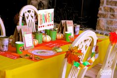 Thanksgiving kids' table free printables