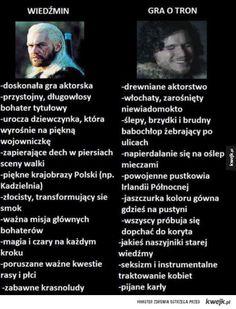 Taka prawda Polish Memes, Its Time To Stop, Ciri, The Witcher 3, Wild Hunt, Film Books, Game Of Thrones, Fandoms, Lol