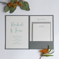 Calligraphy Pocketfold design