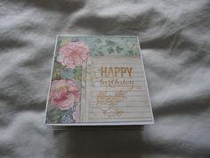 I Card, Rose, Happy, Handmade, Art, Pink, Hand Made, Roses, Ser Feliz